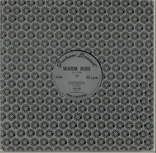 "Graham Bonnet Warm Ride 12"" vinyl single (12 inch record / Maxi-single) UK GBO12WA251133"