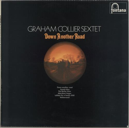 Graham Collier Down Another Road vinyl LP album (LP record) UK GE8LPDO442257