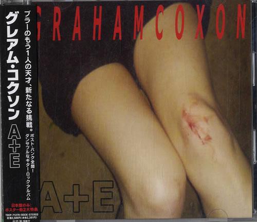 Graham Coxon A+E CD album (CDLP) Japanese GCXCDAE606670