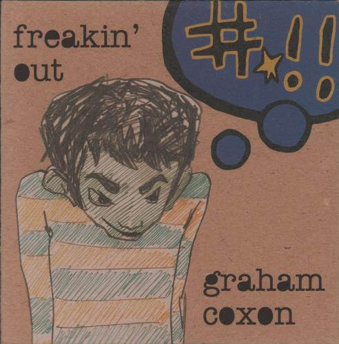"Graham Coxon Freakin' Out CD single (CD5 / 5"") UK GCXC5FR279483"