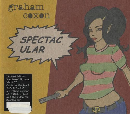 "Graham Coxon Spectacular CD single (CD5 / 5"") UK GCXC5SP294925"