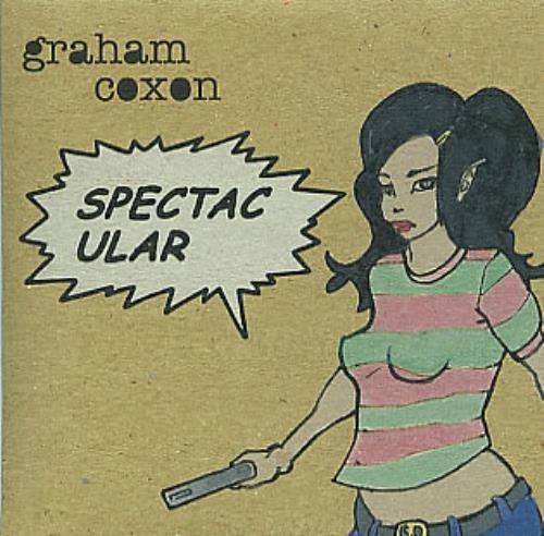 "Graham Coxon Spectacular CD single (CD5 / 5"") UK GCXC5SP296630"