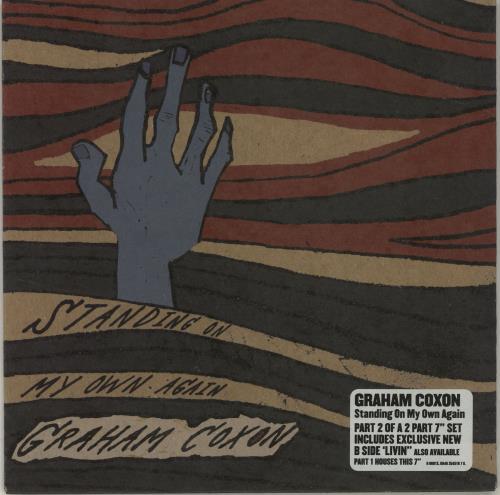 "Graham Coxon Standing On My Own Again - Parts 1 & 2 7"" vinyl single (7 inch record) UK GCX07ST686497"