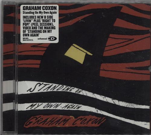 """Graham Coxon Standing On My Own Again CD single (CD5 / 5"""") UK GCXC5ST351119"""