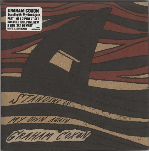 "Graham Coxon Standing On My Own Again 7"" vinyl single (7 inch record) UK GCX07ST351120"
