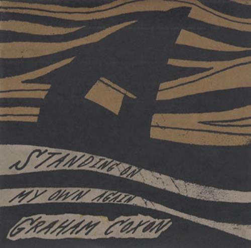 """Graham Coxon Standing On My Own Again CD single (CD5 / 5"""") UK GCXC5ST355538"""