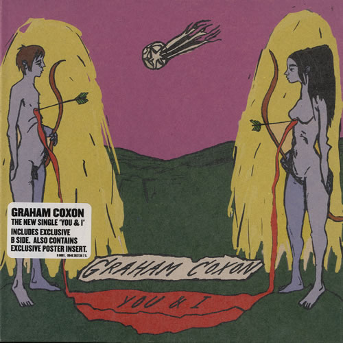 "Graham Coxon You & I 7"" vinyl single (7 inch record) UK GCX07YO358276"