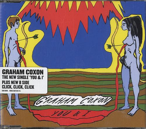 """Graham Coxon You & I CD single (CD5 / 5"""") UK GCXC5YO577767"""