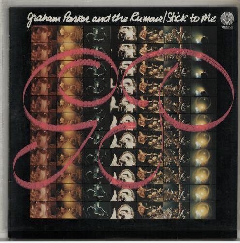Graham Parker Stick To Me + PVC sleeve vinyl LP album (LP record) UK GRPLPST341620