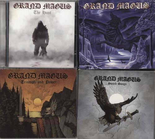 Grand Magus 2010-2016 Studio Albums 5-CD album set UK GS75CST705894