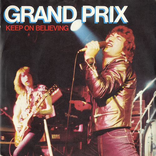 "Grand Prix Keep On Believing - P/S 7"" vinyl single (7 inch record) UK GRX07KE559043"