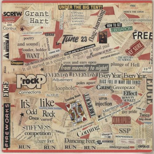 Grant Hart Intolerance vinyl LP album (LP record) US GF7LPIN742304