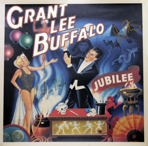 Grant Lee Buffalo Jubilee - Autographed Lithigraph memorabilia US GLBMMJU545320