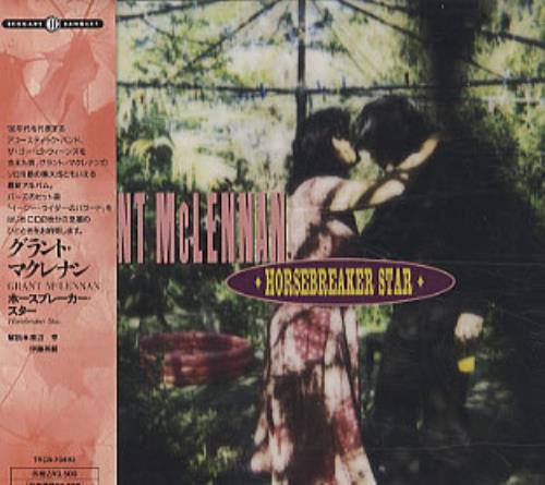 Grant McLennan Horsebreaker Star 2 CD album set (Double CD) Japanese GMC2CHO177320