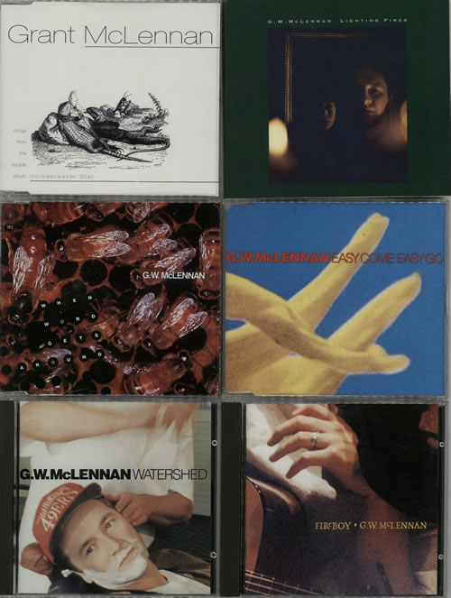 "Grant McLennan Quantity Of 5 CD Singles + 2 Albums CD single (CD5 / 5"") UK GMCC5QU632597"