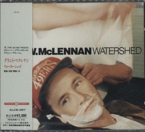 Grant McLennan Watershed - Sealed CD album (CDLP) Japanese GMCCDWA716195