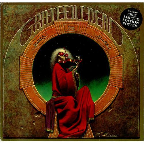Grateful Dead Blues For Allah Poster Uk Vinyl Lp Album