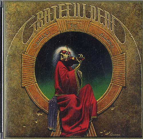 Grateful Dead Blues For Allah CD album (CDLP) UK GRDCDBL633172