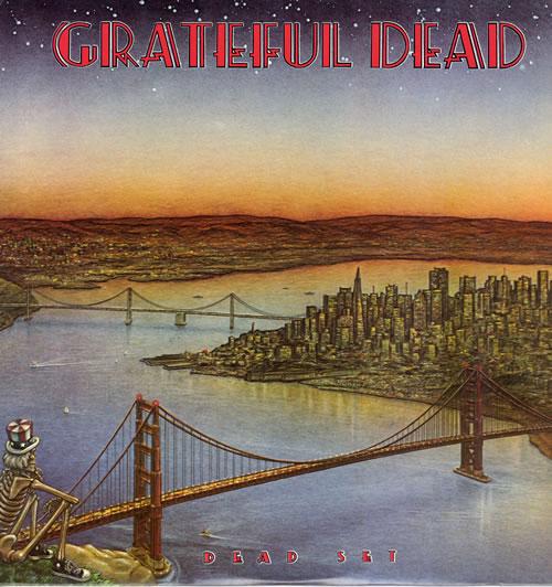 Grateful Dead Dead Set 2-LP vinyl record set (Double Album) US GRD2LDE141053