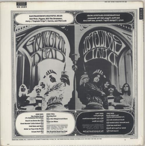 Grateful Dead The Grateful Dead - 1st - Sealed vinyl LP album (LP record) US GRDLPTH711741