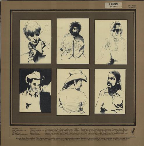 Grateful Dead The Workingman's Dead - 2nd vinyl LP album (LP record) UK GRDLPTH663051