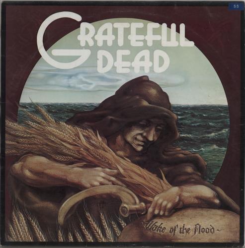 Grateful Dead Wake Of The Flood Ex Uk Vinyl Lp Album Lp