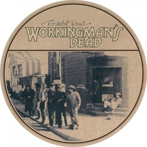 Grateful Dead Workingman's Dead picture disc LP (vinyl picture disc album) UK GRDPDWO748657