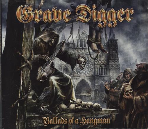 Grave Digger Ballads of the Hangman CD album (CDLP) UK GXHCDBA751434
