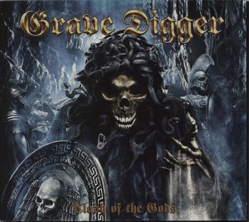 Grave Digger Clash of the Gods CD album (CDLP) UK GXHCDCL751437