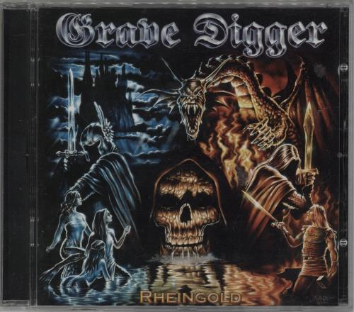Grave Digger Rheingold CD album (CDLP) German GXHCDRH753165
