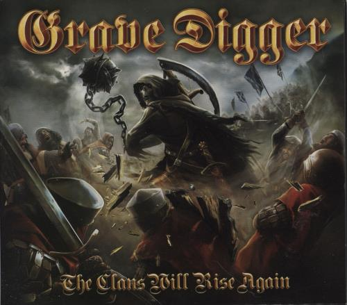 Grave Digger The Clans Will Rise Again CD album (CDLP) UK GXHCDTH751441