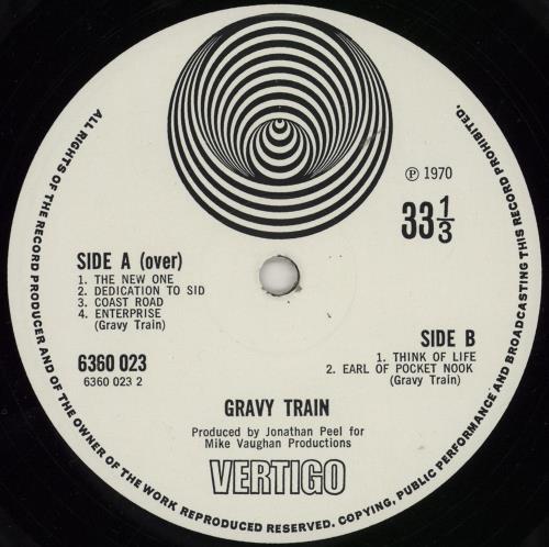 Gravy Train Gravy Train - 1st vinyl LP album (LP record) UK GTRLPGR605344
