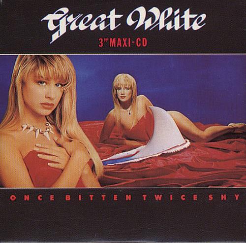 Great White Once Bitten Twice Shy Austrian 3 Quot Cd Single
