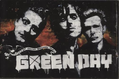 Green Day 21st Century Breakdown Tour + Ticket Stub tour programme UK GRNTRST756669