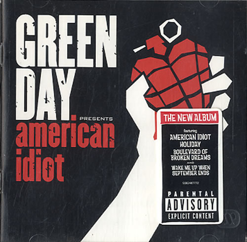 Green Day American Idiot CD album (CDLP) UK GRNCDAM301071