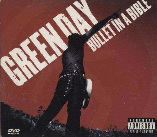 Green Day Bullet In A Bible 2-disc CD/DVD set UK GRN2DBU753482