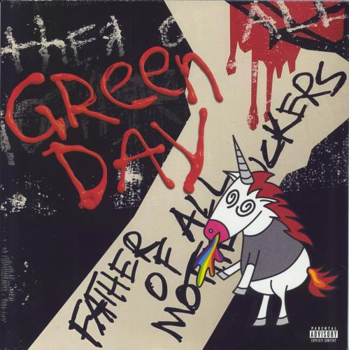 Green Day Father Of All... - Sealed vinyl LP album (LP record) UK GRNLPFA752345