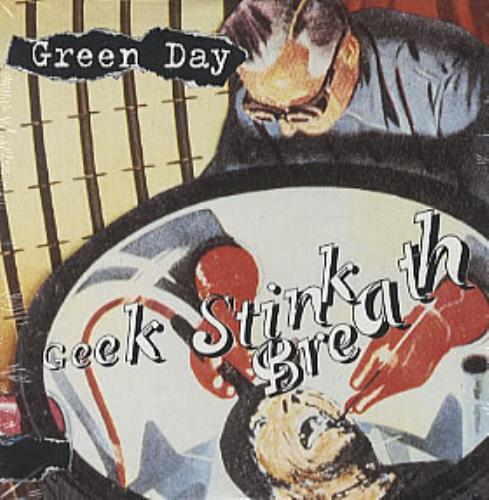 "Green Day Geek Stink Breath - Wallet CD single (CD5 / 5"") German GRNC5GE61329"