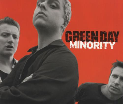 "Green Day Minority CD single (CD5 / 5"") UK GRNC5MI165736"