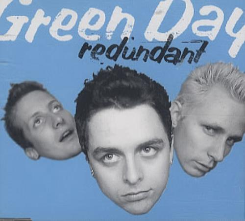 Green Day Redundant 2-CD single set (Double CD single) UK GRN2SRE151110