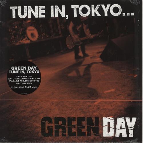 Green Day Tune In, Tokyo - Blue Vinyl vinyl LP album (LP record) US GRNLPTU765450