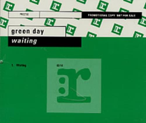 "Green Day Waiting CD single (CD5 / 5"") German GRNC5WA196862"