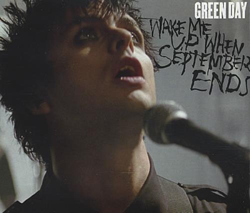 """Green Day Wake Me Up When September Ends CD single (CD5 / 5"""") UK GRNC5WA382473"""
