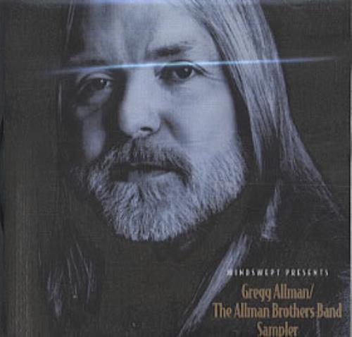 Gregg Allman Catalogue Sampler CD-R acetate US GGACRCA275686