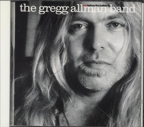 Gregg Allman Just Before The Bullets Fly + Obi CD album (CDLP) Japanese GGACDJU746573