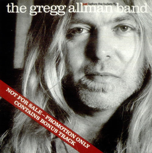 Gregg Allman Just Before The Bullets Fly CD album (CDLP) US GGACDJU198769