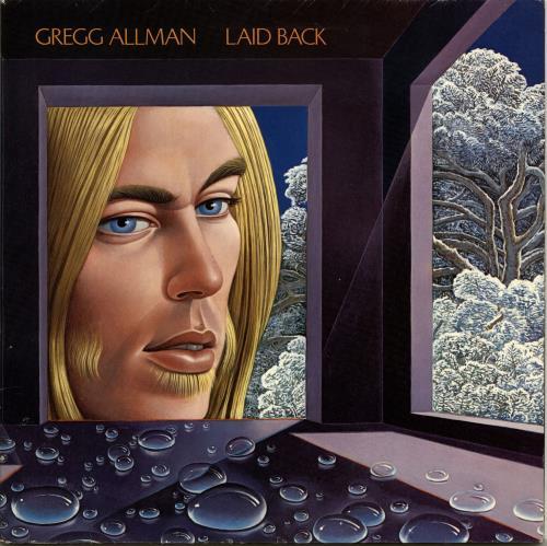Gregg Allman Laid Back vinyl LP album (LP record) UK GGALPLA417040