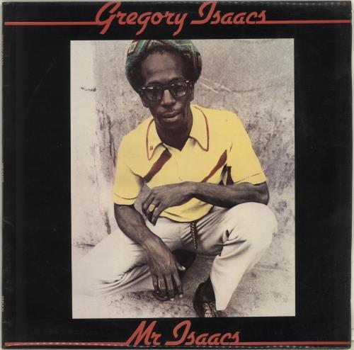 Gregory Isaacs Mr. Isaacs - Autographed vinyl LP album (LP record) UK GRGLPMR704382