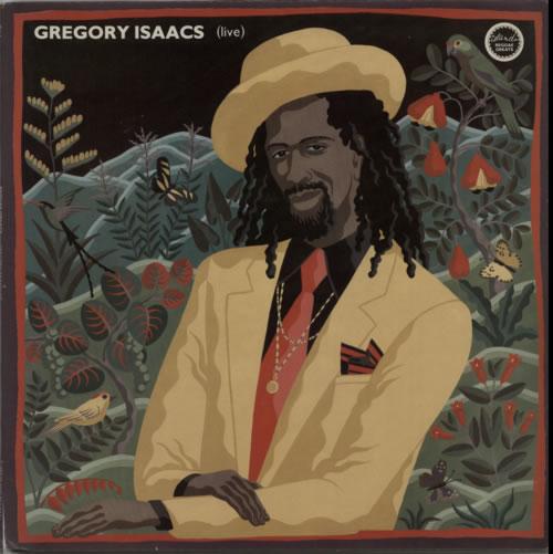Gregory Isaacs Reggae Greats: Gregory Isaacs Live vinyl LP album (LP record) UK GRGLPRE610558