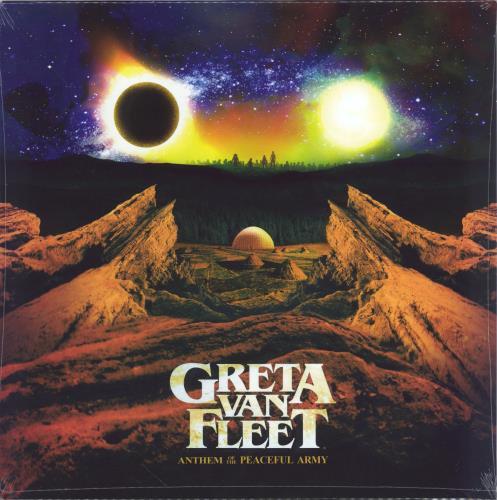 Greta Van Fleet Anthem Of The Peaceful - Sealed vinyl LP album (LP record) Dutch Q3LLPAN767921